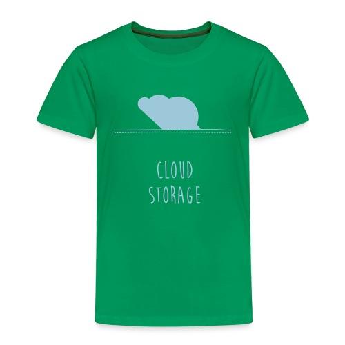 Cloud Storage - Kinder Premium T-Shirt