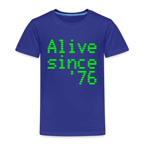 Alive since '76. 40th birthday shirt - Kids' Premium T-Shirt