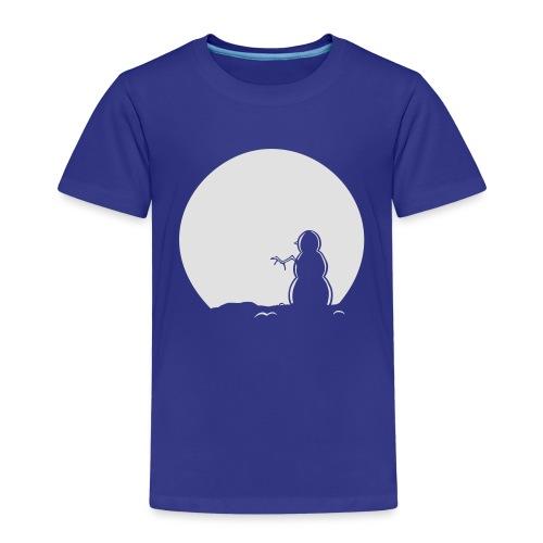 Snowman Hoody - Kids' Premium T-Shirt