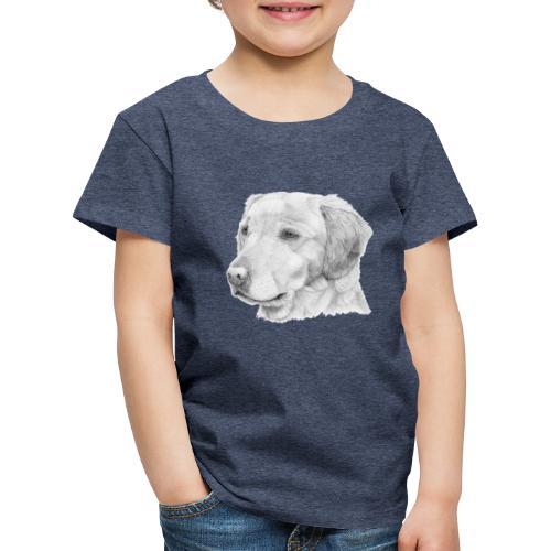 Golden retriever 2 - Børne premium T-shirt