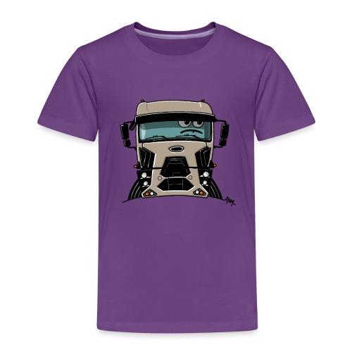 0812 F truck beige - Kinderen Premium T-shirt