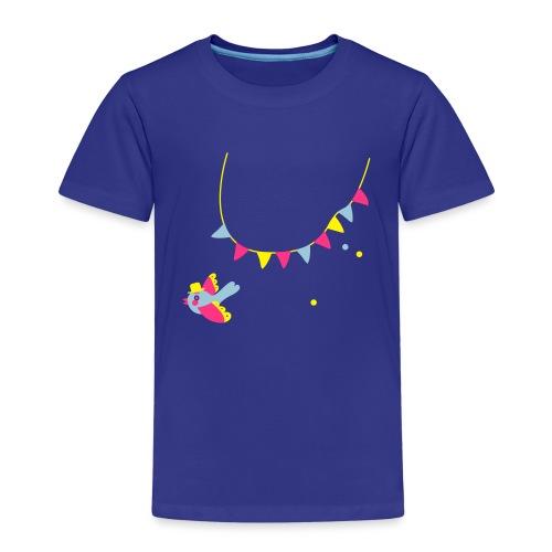 Spatz # Affentanz # bunt - Kinder Premium T-Shirt