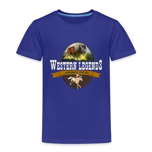 Western Legends - le bison - T-shirt Premium Enfant