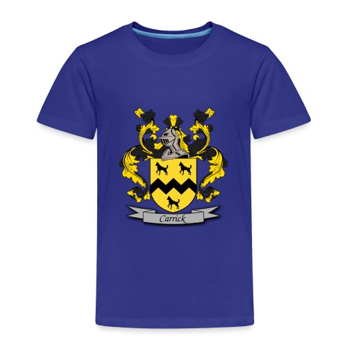Carrick Family Crest - Kids' Premium T-Shirt