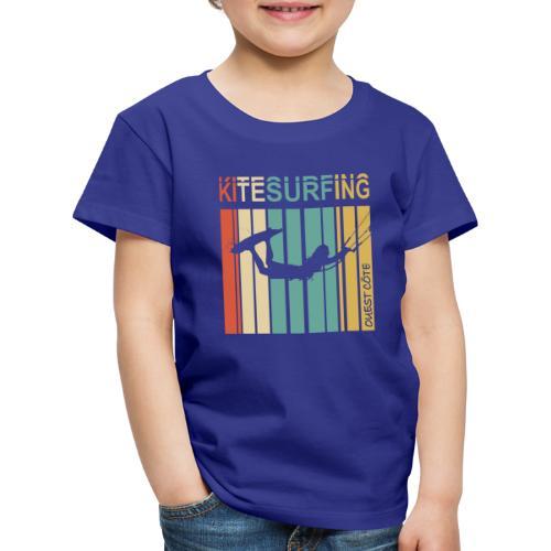 Kitesurfing Ouest Côte - T-shirt Premium Enfant