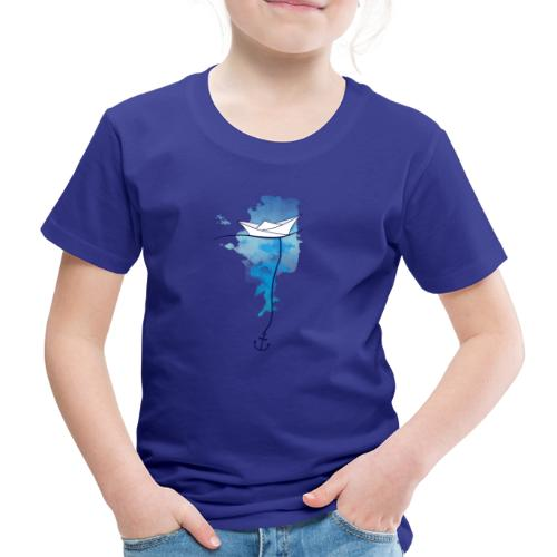 Papierschiff - Kinder Premium T-Shirt
