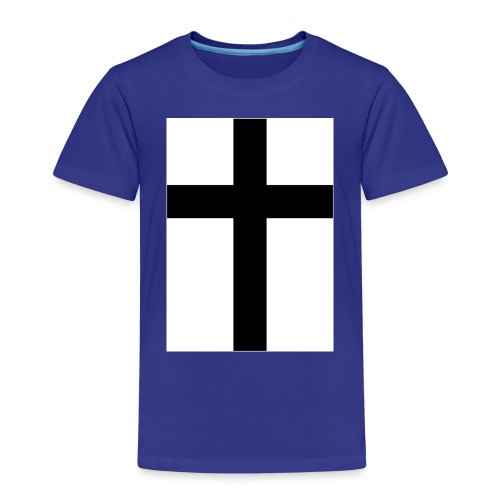 Cross - Premium-T-shirt barn
