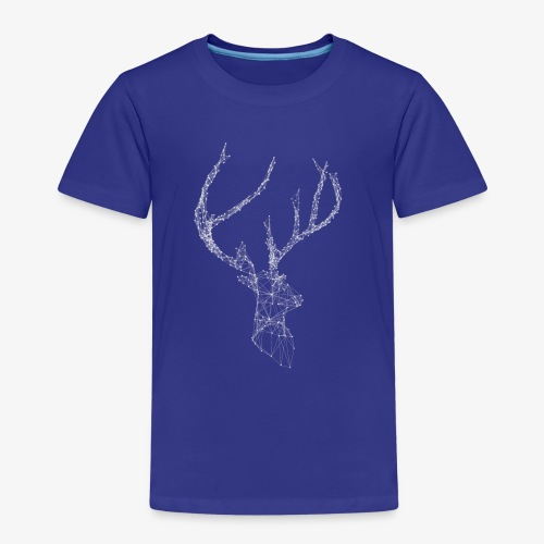 Deer head hertenkop gewei - Kinderen Premium T-shirt