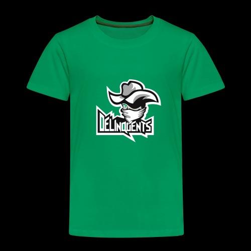 Delinquents TriColor - Børne premium T-shirt