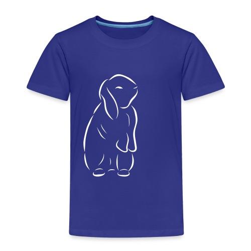 stehendes Häschen Hase Kaninchen Zwergkaninchen - Kinder Premium T-Shirt
