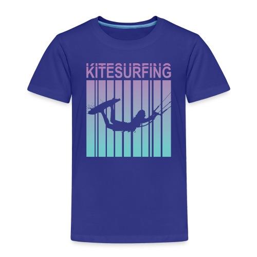 Kitesurfing - Kids' Premium T-Shirt