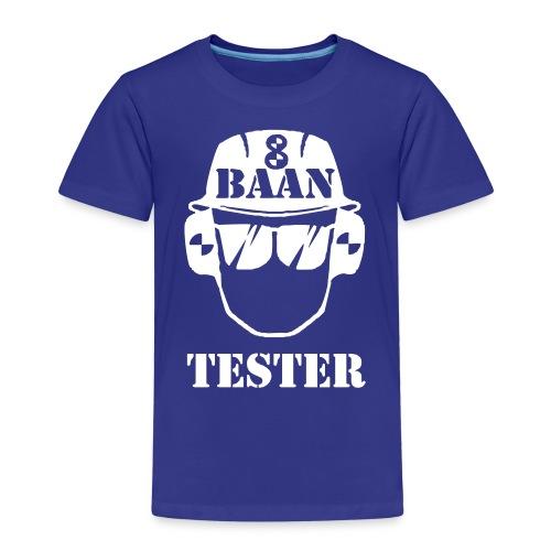 Achtbaan tester tshirt van Baas Bots - Kinderen Premium T-shirt