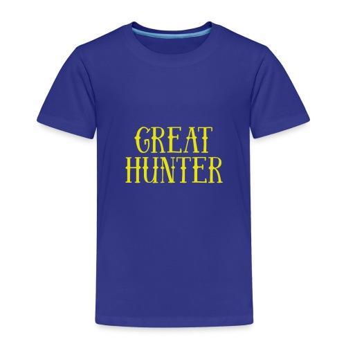 great hunter - Koszulka dziecięca Premium