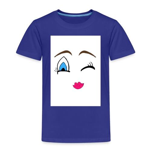Winky emoji jpg - Kids' Premium T-Shirt