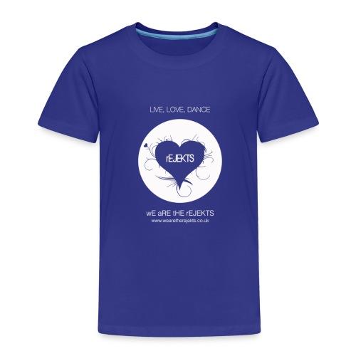 Live Love Dance White - Kids' Premium T-Shirt