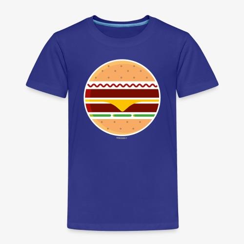 Circle Burger - Maglietta Premium per bambini