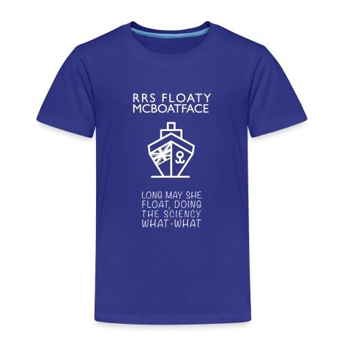Floaty McBoatface tee - Kids' Premium T-Shirt