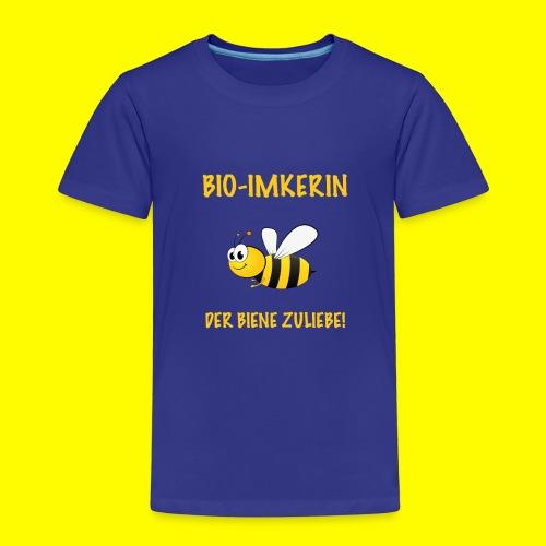 Bio Imkerin - Kinder Premium T-Shirt