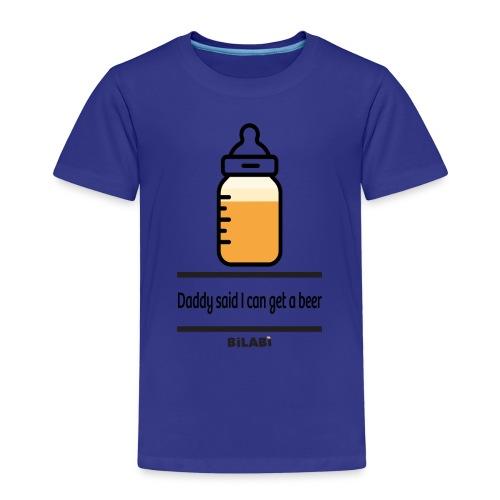 Bilabì Beer Biberon - Maglietta Premium per bambini