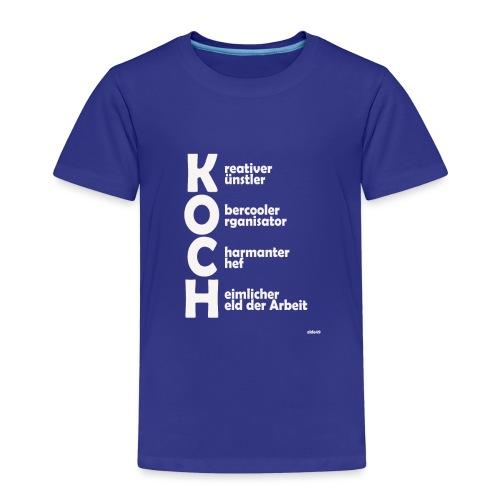 Was macht einen Koch aus? (Premium Shirt) - Kinder Premium T-Shirt