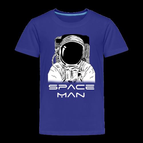 Space man white - Kids' Premium T-Shirt
