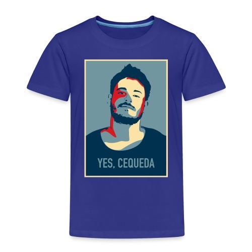 YES, CEQUEDA - Camiseta premium niño