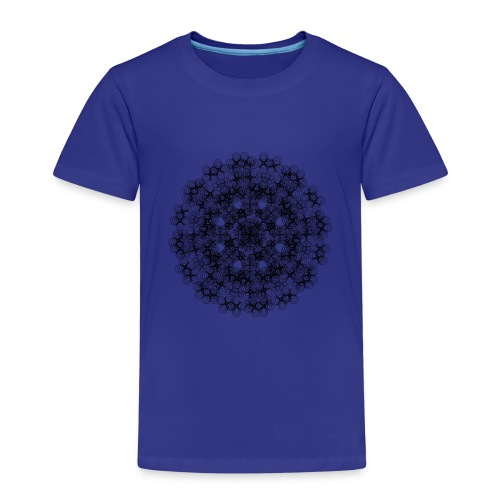 Flower mix - Børne premium T-shirt