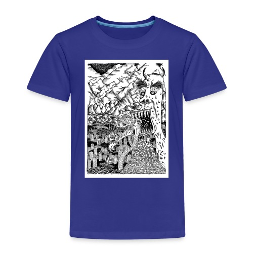 Sea Monsters T-Shirt by Backhouse - Kids' Premium T-Shirt