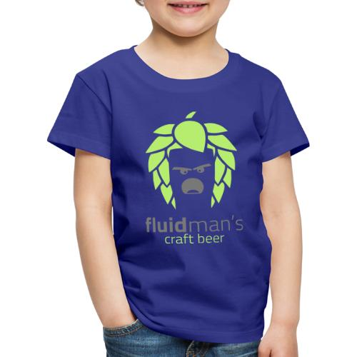 Fluidmans Craft Beer Logo - Kinder Premium T-Shirt