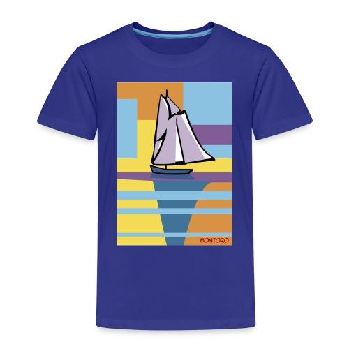 Au large, aube - T-shirt Premium Enfant