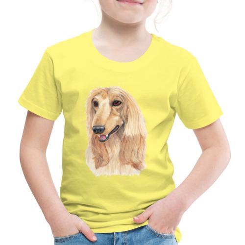 afghanskMynde- A - Børne premium T-shirt
