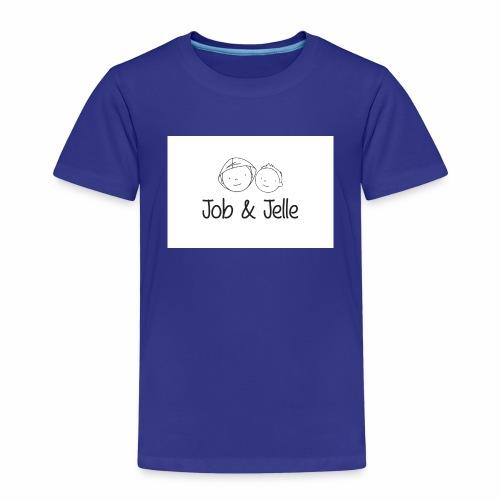 Job & Jelle | Logo - Kinderen Premium T-shirt
