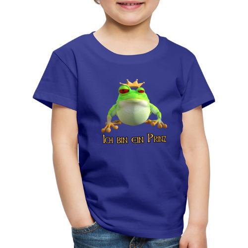 Ich bin ein Prinz - Kinder Premium T-Shirt