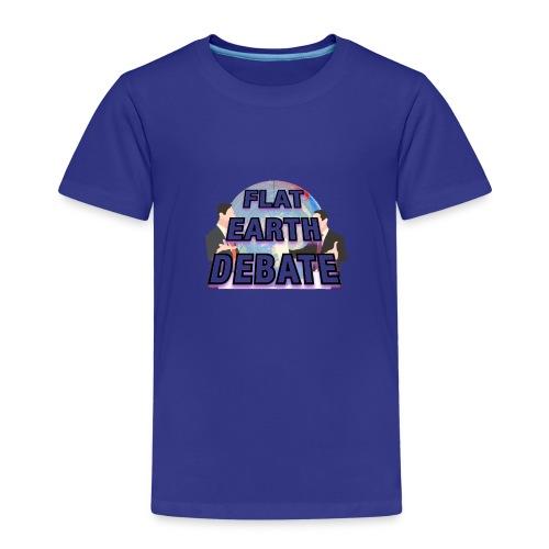 Flat Earth Debate - Kids' Premium T-Shirt