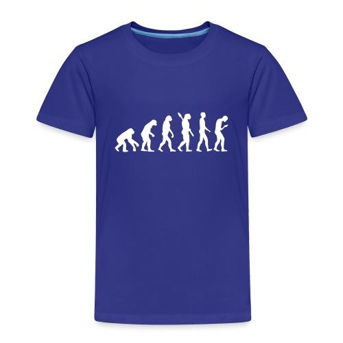 Entwicklung des Smartphone Zombie / Smombie - Kids' Premium T-Shirt
