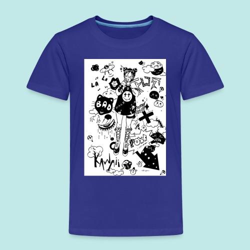 japanese girl : mess idea - T-shirt Premium Enfant