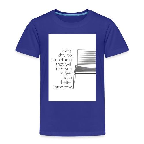 every day - Premium T-skjorte for barn