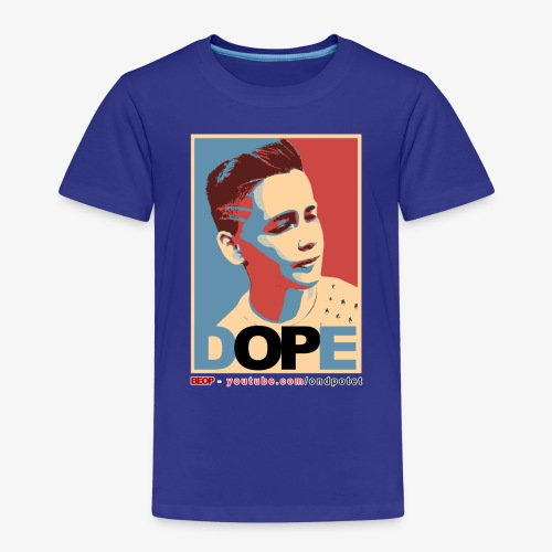 Original BEOP Dope design - Premium T-skjorte for barn