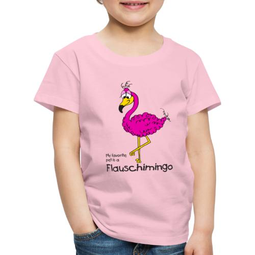My favorite pet is a Flauschimingo - Kinder Premium T-Shirt