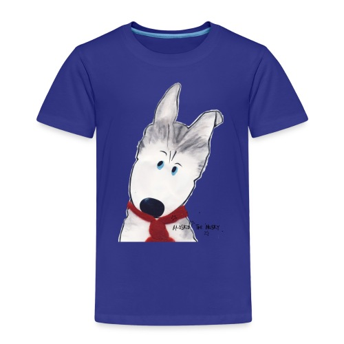 Alaska the Husky - Kids' Premium T-Shirt