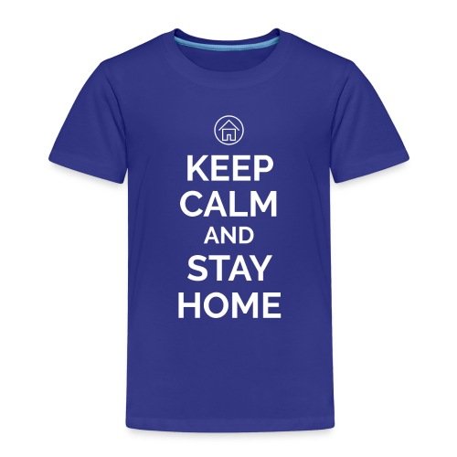 Coronavirus - Keep calm and stay home - Kinder Premium T-Shirt
