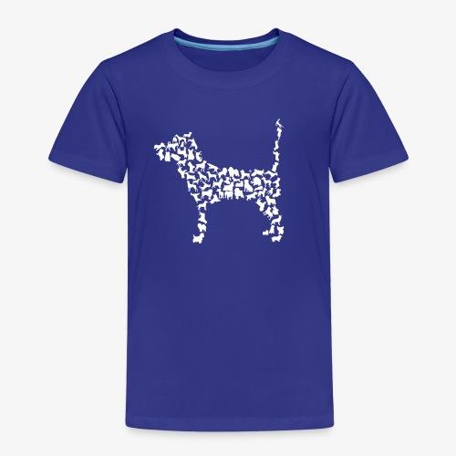 Hunde Kollage - Kinder Premium T-Shirt