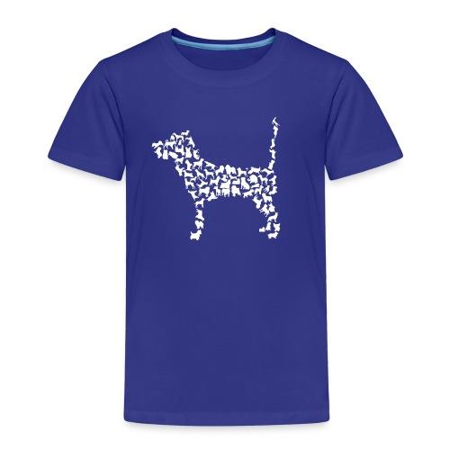 Vorschau: Hunde Kollage - Kinder Premium T-Shirt