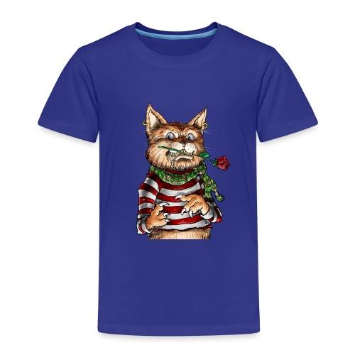 T-shirt - Crazy Cat - T-shirt Premium Enfant