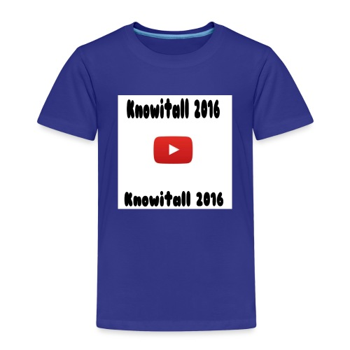 Knowitall 2016 Custom design - Kids' Premium T-Shirt