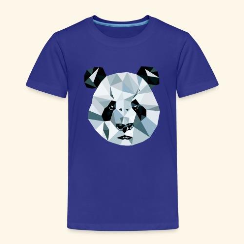 Panda Kopf 3D Polygon Comic - Kinder Premium T-Shirt