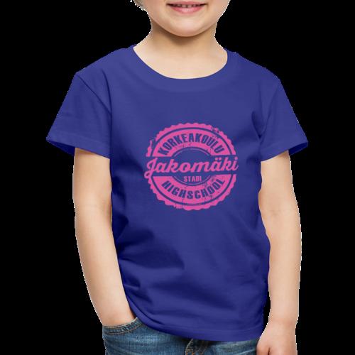 77P-JAKOMÄEN KORKEAKOULU - Stadi, Helsinki - Lasten premium t-paita