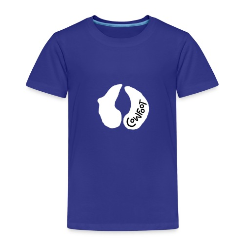 Cowfoot for dark background - Kids' Premium T-Shirt