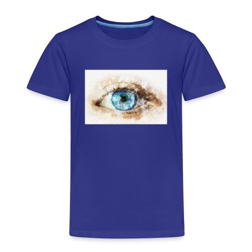 eye-blue-girl-art - T-shirt Premium Enfant