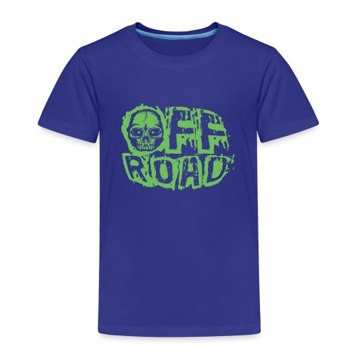11A-13 OFF ROAD SKULL Textiles and gift products - Lasten premium t-paita